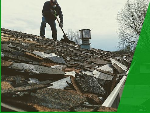 A roof replacement in Wamego
