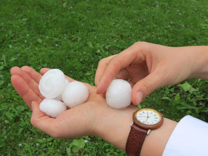 Colorado hail Storms